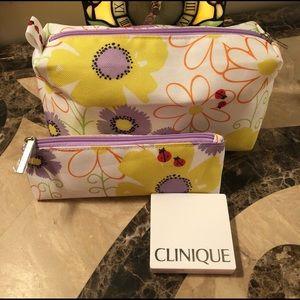 Clinique Eye & Cheek Colour Compact + Bags